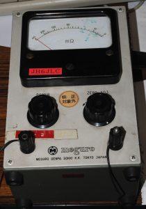 低電流抵抗計
