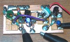 CR位相型低周波発振回路基板