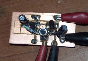 低周波2段直結増幅回路