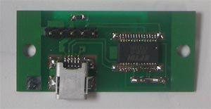 PCとの接続用USBアダプタ(データだけでなく電源も供給する)