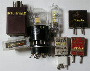 水晶振動子の色々と 珍しくなったアナログメーター